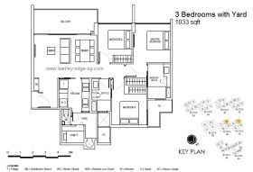 3 bedrooms with Yard