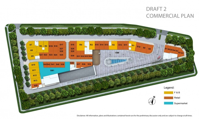 Commercial Site Plan - Draft 2