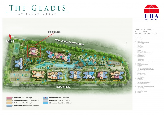 the Glades Site Plan w Facilities