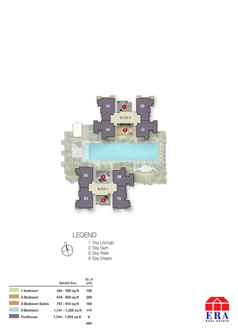Bishan(2) 37th Storey- Site Plan