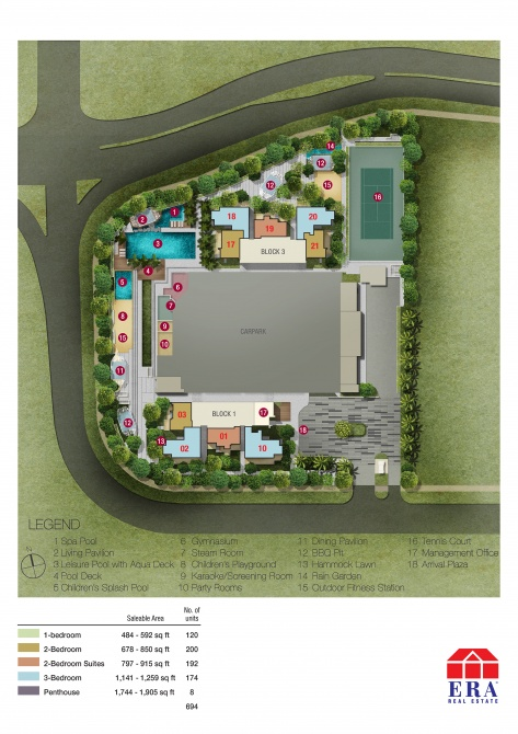 Bishan(2) Ground Floor Site Plan