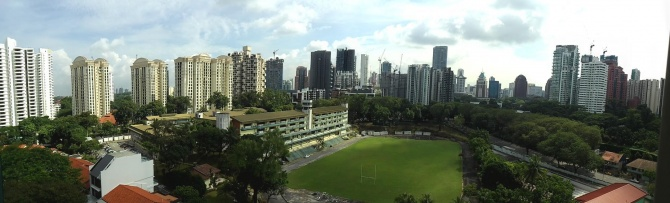 panoramic view from #11-03