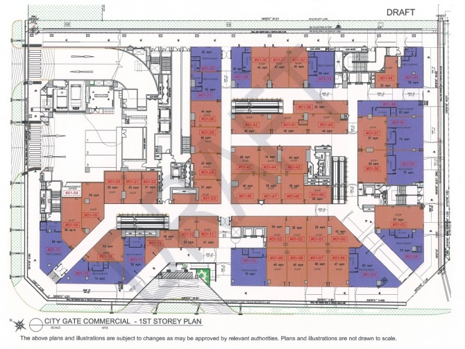 Draft Commercial Siteplan 1st level