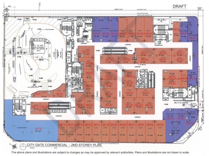 Draft Commercial Siteplan 2nd level