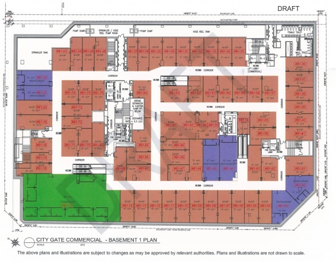 Draft Commercial Siteplan B1